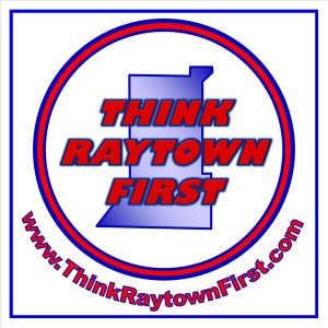 Think Raytown First logo